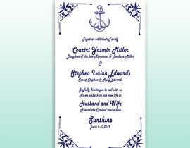 #32 cho Stephon's Wedding bởi LamiyaMeem
