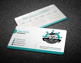 #96 for Design businesses cards for my dog grooming business by chandrarahuldas