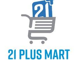 #6 for Build a Logo for 21 Plus Mart af prngfx