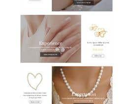 Baljeetsingh8551님에 의한 Design (not build) me a website for a Jewellery Company을(를) 위한 #3