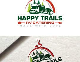 #33 for Design a Logo for a food catering service - Happy Trails RV Catering by fourtunedesign