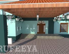 #19 for House entrance Porch  architectural design by Rufeeya