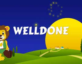#21 cho Kiddies game - Well Done screen design bởi Suprateem