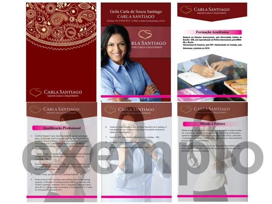 Inscrição nº 12 do Concurso para Portfolio Carla Santiago