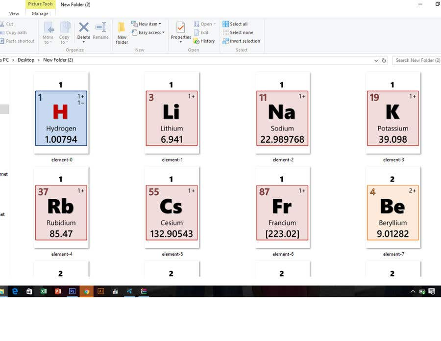 contest entry 21 for copy and paste the periodic table into a word document