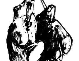 Nro 67 kilpailuun Black and white artwork only. käyttäjältä ekk814