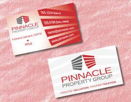 nº 63 pour Business Card Design for Pinnacle Property Group - POTENTIAL LONG-TERM EMPLOYER par MetFanMac
