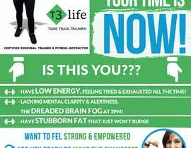 #73 cho Flyer for Personal Trainer bởi TUKU22