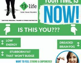 #76 cho Flyer for Personal Trainer bởi TUKU22