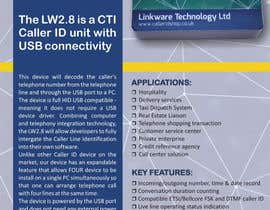 #22 untuk Design a Flyer for a Telephony Product oleh ilditi