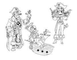 #14 para 15 Children's Chapter Book Illustrations in black/white de berragzakariae