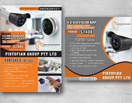 #114 for Create a Flyer for CCTV installations by Designerkawsar