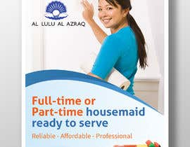 """#22 for create flyer for """"Housemaid"""" services by Hasan628"""