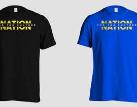 nº 33 pour Create graphic designs for a T-shirt - Nation Clothing, a London youth brand par twotiims