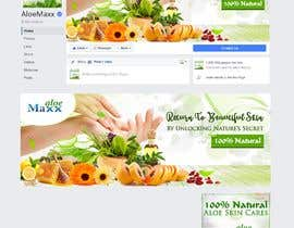 #17 for Designning of a FB page banner and image pic for a skincare brand by Benozirr