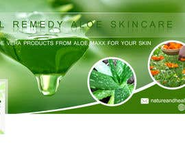 #45 for Designning of a FB page banner and image pic for a skincare brand by webcreadia