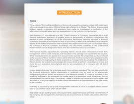 #21 para Business information document template de SLP2008