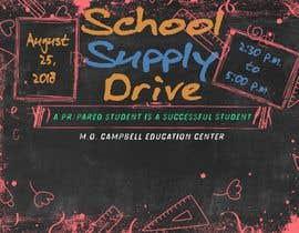 #24 for School Supply Drive Flyer Design for Teachers/Students af ravindu621
