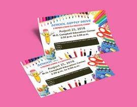 #13 for School Supply Drive Flyer Design for Teachers/Students af MdPkMasud