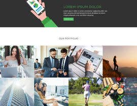 #14 for Website Mockup design a specific page by blackeye77