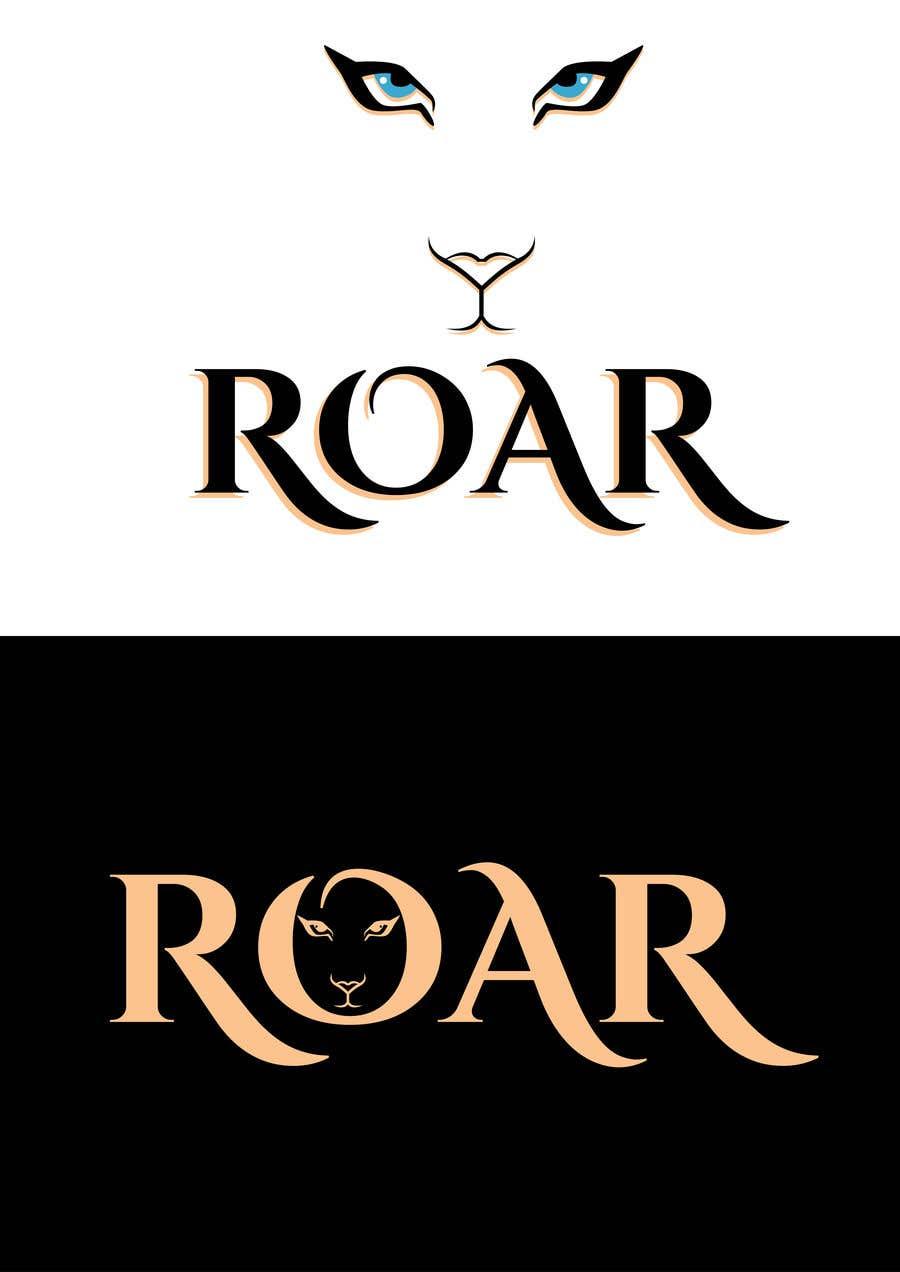 Inscrição nº 14 do Concurso para ROAR - Girl power logo!