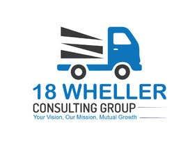 Nro 22 kilpailuun Design a Logo for a Trucking Consulting Company käyttäjältä PhotoshopGD