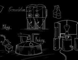 #43 for Brewing and Distilling Illustration by jonaskupe