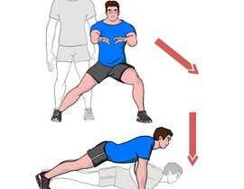 nº 11 pour Fitness Illustration par sdney58