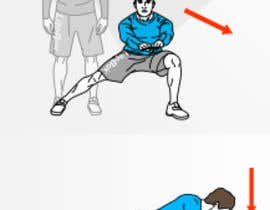 nº 12 pour Fitness Illustration par mostafaaitmbark
