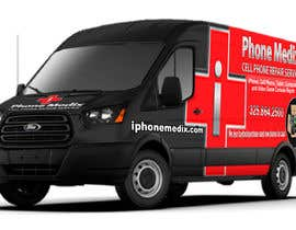 #25 для Graphic Design for Commercial Vehicle wrap от TheFaisal