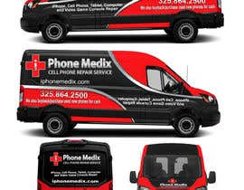 #31 для Graphic Design for Commercial Vehicle wrap от TheFaisal