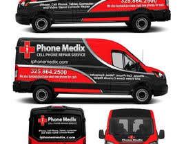 Nro 31 kilpailuun Graphic Design for Commercial Vehicle wrap käyttäjältä TheFaisal