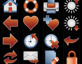 #25 for Icon or Button Design for I4 Web Browser Icons af marsalank