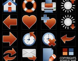 #21 for Icon or Button Design for I4 Web Browser Icons af marsalank