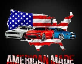 #9 for American Made Muscle Cars Tee Shirts by sunilpeter92
