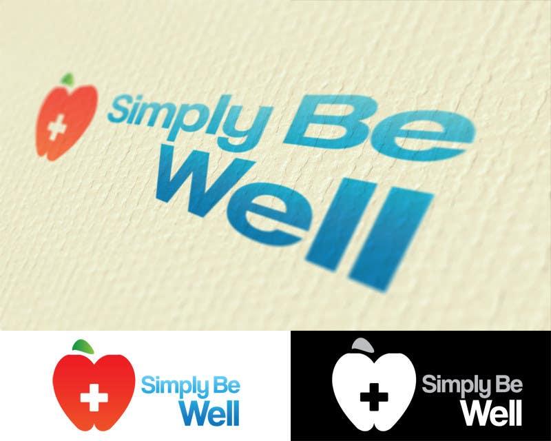 """Penyertaan Peraduan #98 untuk Logo Design for Corporate Wellness Business called """"Simply Be Well"""""""