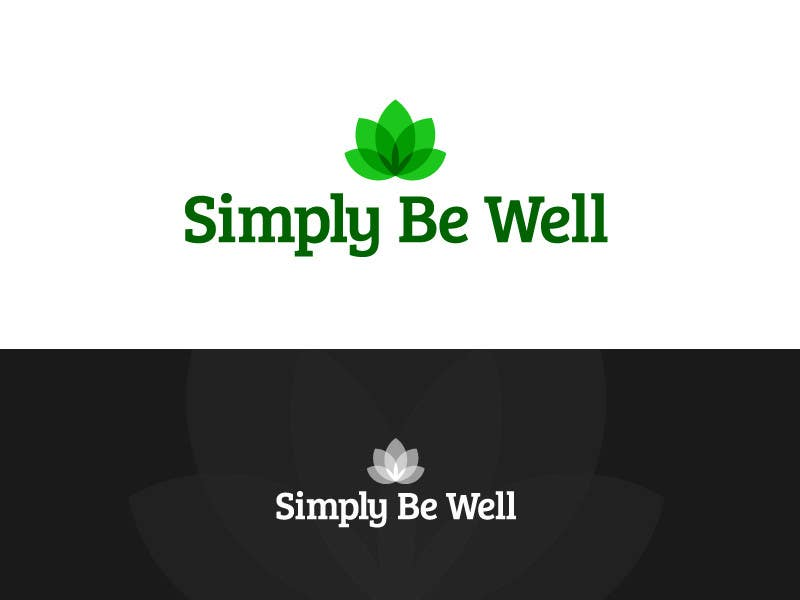 "Penyertaan Peraduan #83 untuk Logo Design for Corporate Wellness Business called ""Simply Be Well"""