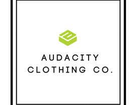 #8 for My brand is called AUDACITY CLOTHING CO this is a logo i already have create me something that uses this logo and font by CKBACLIT