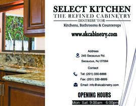 #13 , Design a brochure for Kitchen Cabinet Company 来自 Ellen96