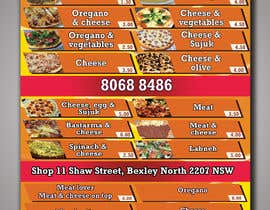#8 for Food Menu Flyer & Business Card by Graphicali07
