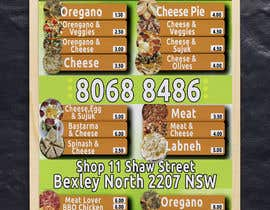 #18 for Food Menu Flyer & Business Card by hsnaley