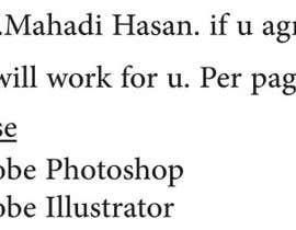 #5 pentru I need some Graphic Design de către MahadiFas