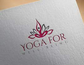 #55 for Yoga for well being Logo Design by shealeyabegumoo7