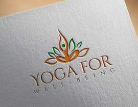#290 para Yoga for well being Logo Design por shealeyabegumoo7