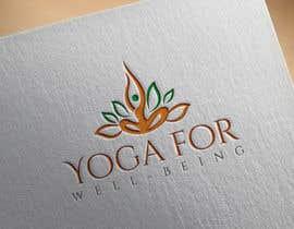 nº 290 pour Yoga for well being Logo Design par shealeyabegumoo7