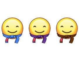 #14 for Emoji wearing Jiu-Jitsu Belt. by RafaelRenoldi
