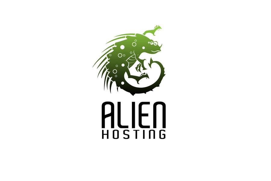 Bài tham dự cuộc thi #                                        83                                      cho                                         Logo Design for Alien Hosting