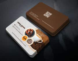 #183 for Business Card for Crema Aroma Coffee Shop by lubnakhan6969