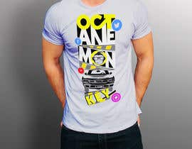 nº 29 pour Octane Monkey Car Enthusiast Design a T-Shirt Contest par haquemasudull77