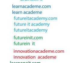 #357 pentru Find a Name for an Educational Institute de către sharif106